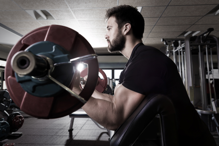 Types of weight training exercise