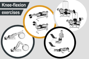 Knee-flexion exercises