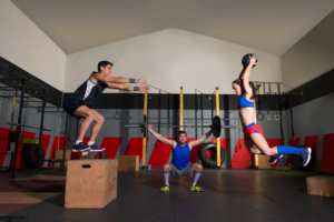 Crossfit power training exercises
